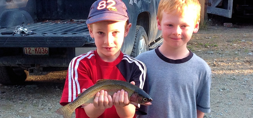 Our First Trout