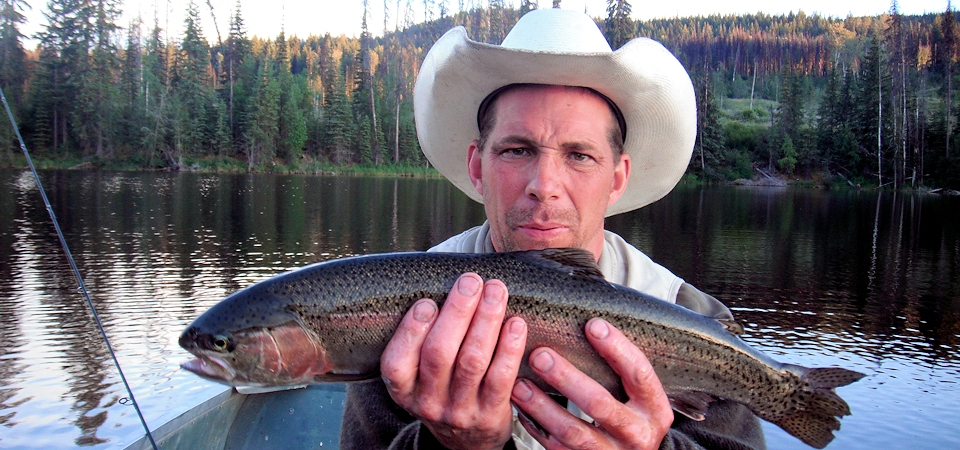 A Trout at Twilight on Thuya Lakes